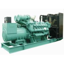 Planta de gas natural con Googol, generador MAN