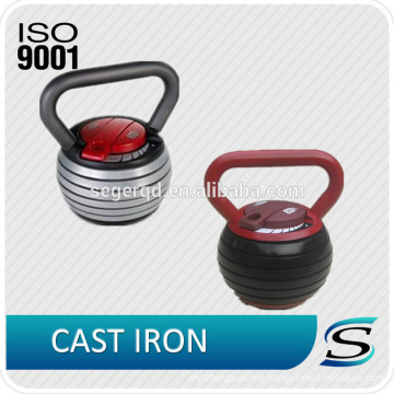 2014 hot sales Cast iron custom kettlebell