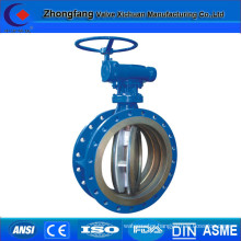 Eccentric butterfly hydraulic valve
