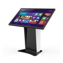 55 inch Android floor stand standalone led advertising player self service Interactive information checking kiosk