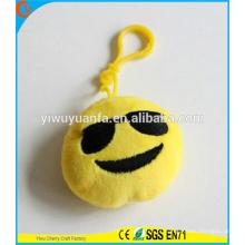 Hot Selling High quality Novelty Design Chaveiro Emoji com expressão facial