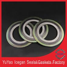 Piezas de automóviles Spiral Wound Gasket / Metal Spiral Wound Gasket