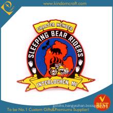 High Quality Club Embroiddery Emblem