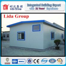 Painéis de parede pré-fabricados da casa / casa pré-fabricada feita em China