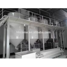 30-500TPD máquina de refino de óleo vegetal contínua / automática / máquina de refino de óleo de milho
