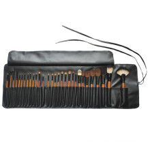 Ensemble de brosse à maquillage professionnel à la soie de chèvres 30PCS (TOOL-08)
