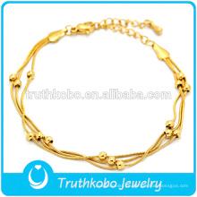 rosario de oro pulsera religiosa hematita hecha a mano pulsera elástica pulsera más nueva