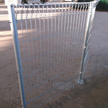 Triangle Bending PVC Coated BRC soldado Mesh Fence
