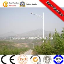 Hohe Helligkeits-Sun-Batterie-Lampe 30W galvanisierte Straßenlaterne Pole