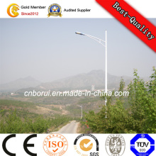 High Brightness Sun Battery Lamp 30W Galvanized Street Light Pole