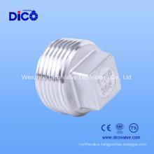 Ss304 Pipe Plug, Ss304 Square Plug
