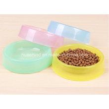 Süßigkeits-Farbe Haustier-Schüssel. Hund Fütterung Schüssel