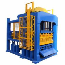 Bloco de concreto QTF10-15 cimento automático que faz a máquina