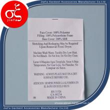 Factory Price Wash Care Content Label/Non-Woven Printed Label