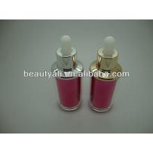 40ml acrílico garrafa de óleo essencial essencial acrílico garrafa de conta-gotas