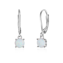 High Quality Opal Earring Popular jewelry Opal Stone Earrings