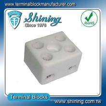 Connecteur de fil Bloc de bornes en céramique haute température électrique