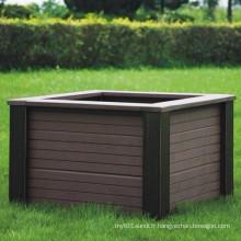 Composé en plastique bois haute qualité Quanlity / WPC Flower Box610 * 610 * 407
