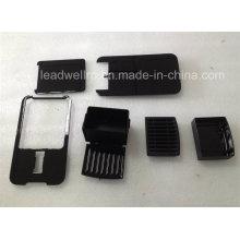 Moldeo por inyección de plástico complejo para piezas domésticas en China (LW-03696)