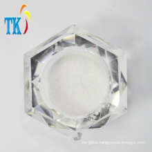 White Pearlescent pigment for cosmetics/pearl powder