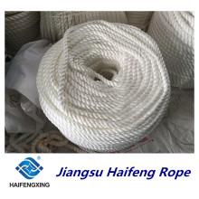 Corda do nylon da corda da amarração da corda do filamento do polipropileno da 3-Corda