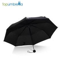 chinesische Hersteller Unternehmen Korea verkaufen billig 3 Falten Regen Regenschirm