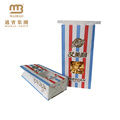 Factory Food Grade Heat Sealable Packaging Custom Logo Printed Greaseproof Paper Popcorn Bags