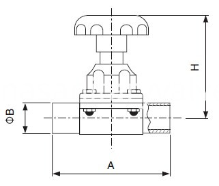 sanitary-welded-diaphragm-valve-sms-KAYSEN