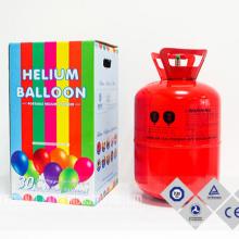 Hot Sale in Dubai 30LB/50LB Welded Steel Helium Gas Cylinder