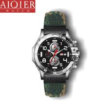 Chronograaf lichtgevende stalen waterdichte militaire horloges