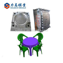 Kid Table And Chair Mould Professional Make Green Plastic Outdoor Table And Chair Mould