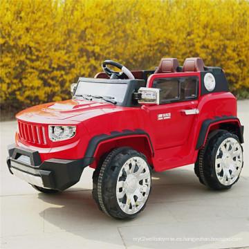 Niños coche eléctrico, paseo en coche