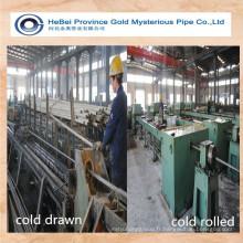 Tuyau en acier au carbone sans soudure fabriqué en Chine