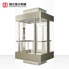 Fuji Factory Cheap Price Shopping Mall Passenger Sightseeing Elevator Glass Elevator