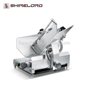 Trancheuse de viande surgelée industrielle électrique automatique d'acier inoxydable de restaurant