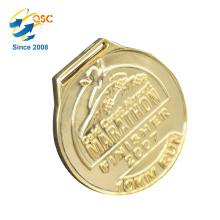 Novo produto excelente qualidade novo design medalhas personalizado anel forma projetar sua própria medalha