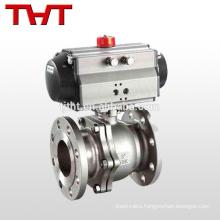 DN100 Pneumatic encapsulated type ball valve