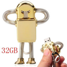Mini Metal Model Iron Man USB Stick