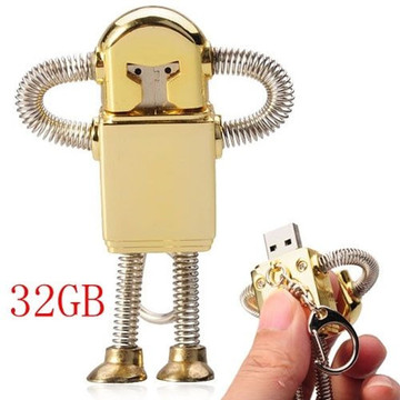 Mini Metal modelo Iron Man USB Stick