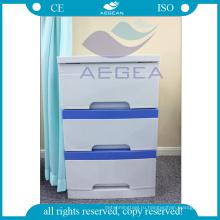 АГ-BC001 с 3 ящиками больнице АБС пластика используемые медицинские шкафы