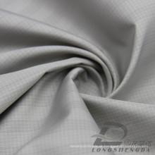 Water & Wind-Resistant Moda Jacket Down Jaqueta Tecido Plaid Jacquard 100% Poliéster Sea-Island Filamento Tecido (X042)