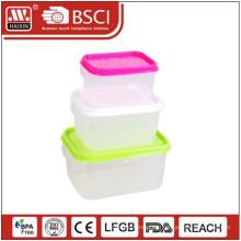 Envase de alimento (0.67L/1.2L/2L) (3pcs)