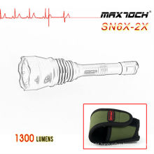 Maxtoch SN6X-2X 1300lm Hunting Cree XML2 Flashlight