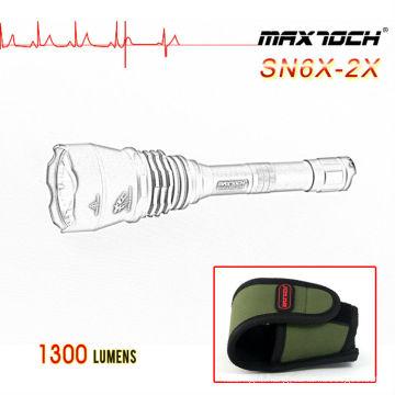 Maxtoch SN6X-2X 1300lm Shooting Cree XML-2 Flashlight