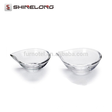 P057 Banquet Plastic Acrylic Water Drop Rim Food Display Stand