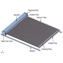 Split Solar Collector