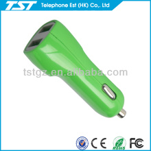 Micro Usb Car Charger With Two Ports Usb