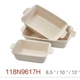 Square ceramic stoneware baking dish Handcrafted Pottery Ovenware