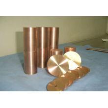 CuCr Cuivre Chromium Round Bar Dic QCr0.6-0.4-0.05