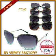 2015 el comercio garantía moda gafas de sol por mayor de China (F7385)